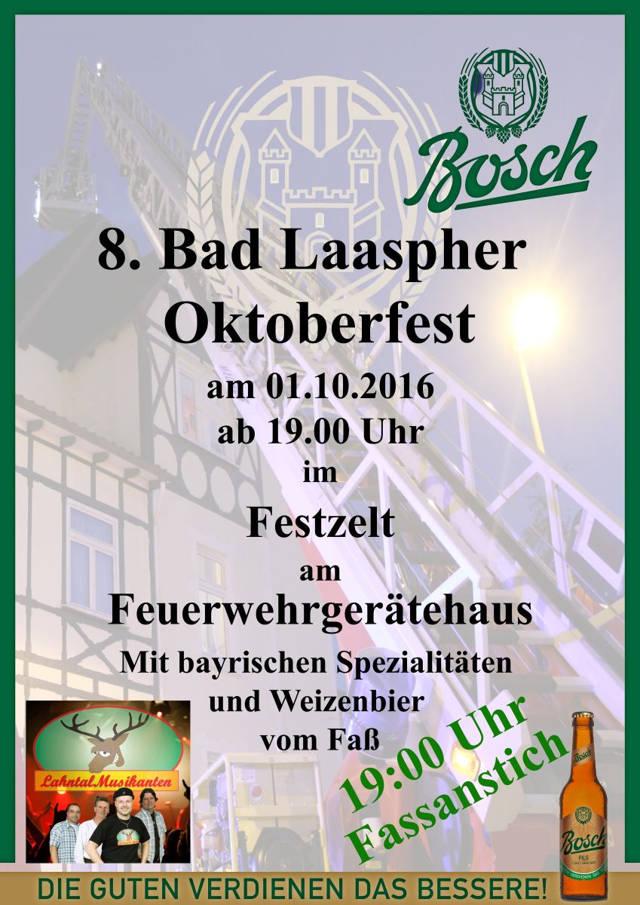 2016-09-02_Bad Laasphe_Oktoberfest Feuerwehr_Plakat Feuerwehr