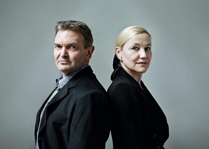 Rodney Bolt und Britta Böhler