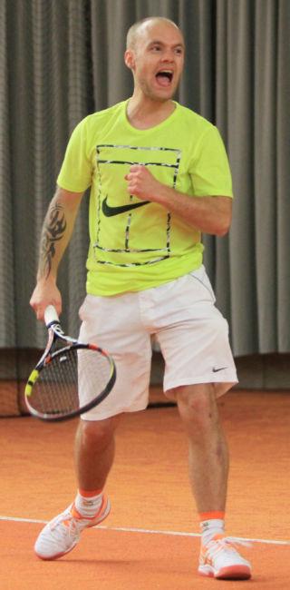 Sieger 2015, Stephan Zieten, damals für den TC Ludwigseck Salchendorf am Start, möchte 2016 seinen Titel verteidigen.