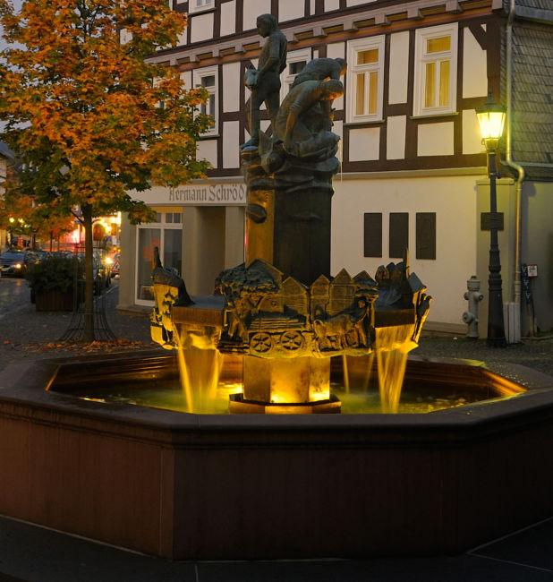 Der Altstadtbrunnen (Foto: Tourismus, Kur und Stadtentwicklung Bad Laasphe GmbH)