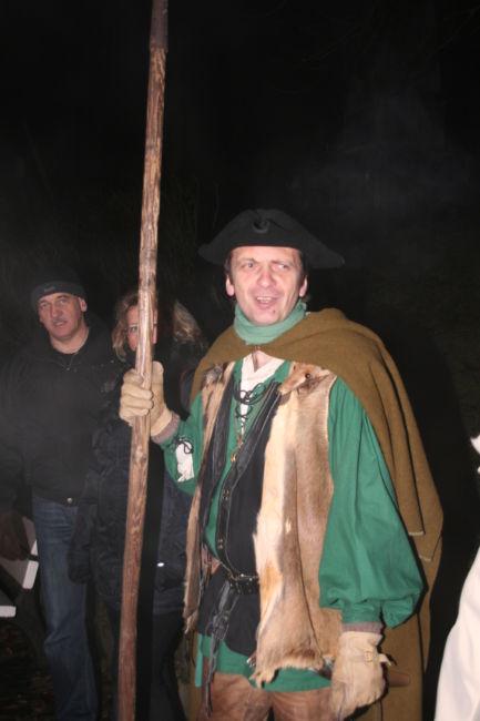 Nachtwächter Johann freut sich auf viele Teilnehmer der Führung (Foto: Stadt Hilchenbach)