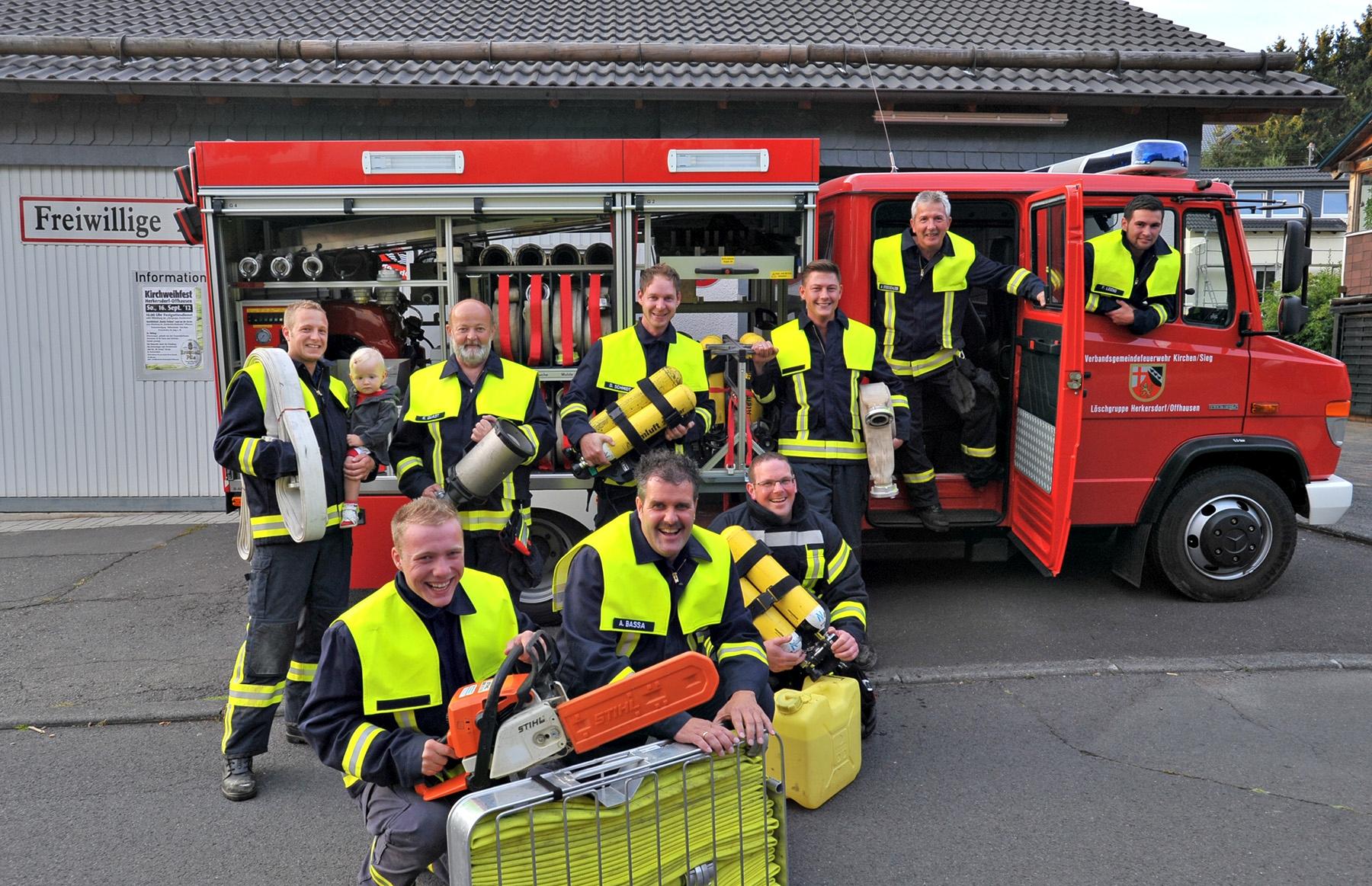 RZ-Sommertour Herkersdorf/Offhausen: Feuerwehr
